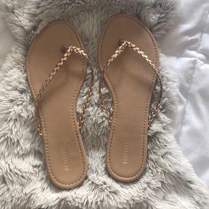 Forever 21 flip flops